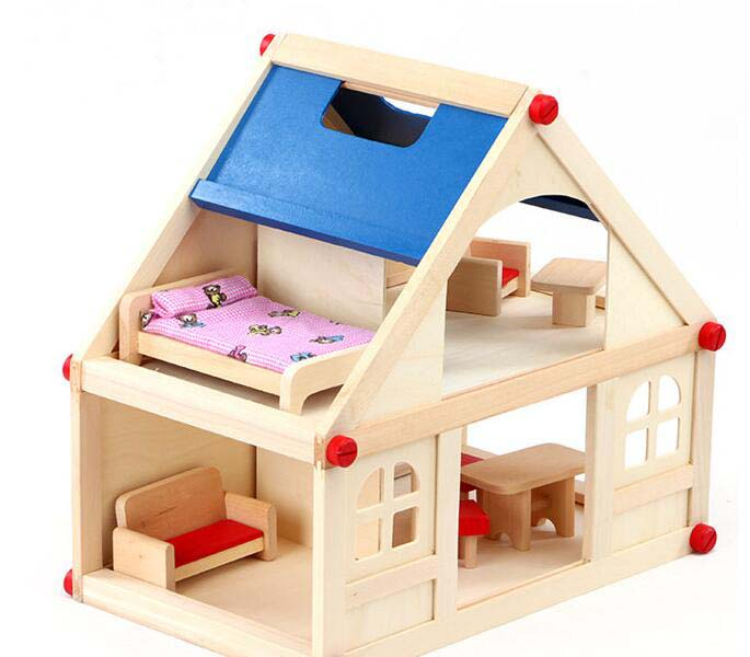 XD7002--Wooden doll house
